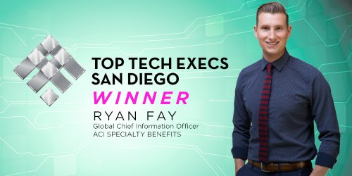 Congratulations to Global CIO Ryan Fay: Top Tech Exec Award Winner
