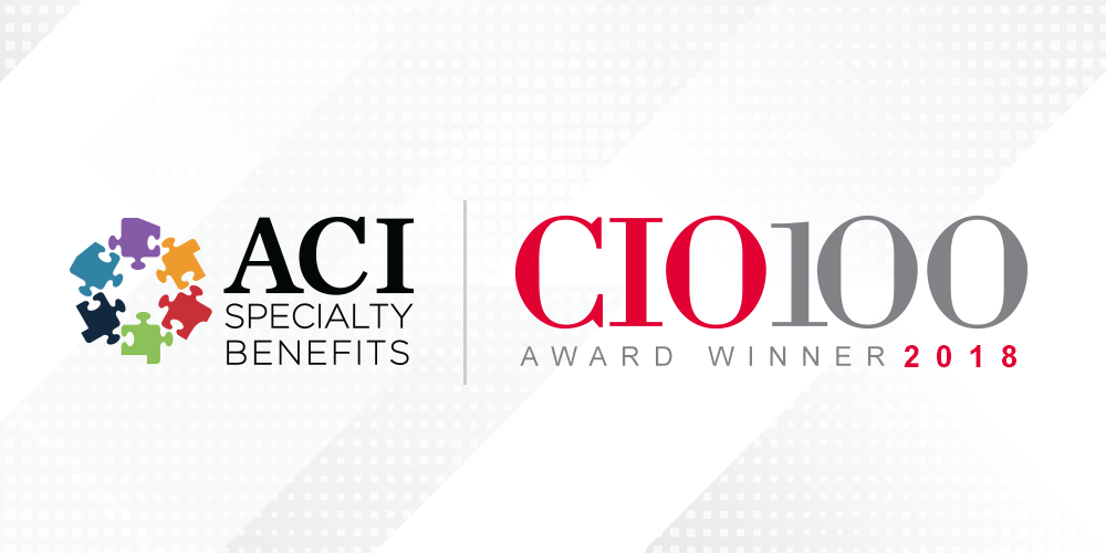 ACI Specialty Benefits Recognized as a CIO 100 Winner