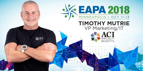 ACI's Tim Mutrie is a Featured Speaker at EAPA 2018