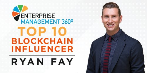 ACI's Ryan Fay Named a Top 10 Blockchain Influencer