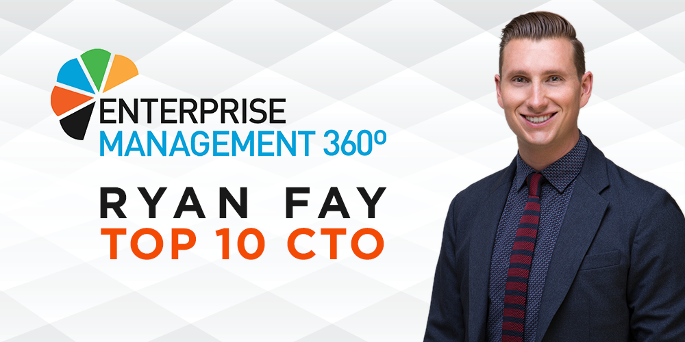 ACI's Ryan Fay Recognized as a Top 10 CTO