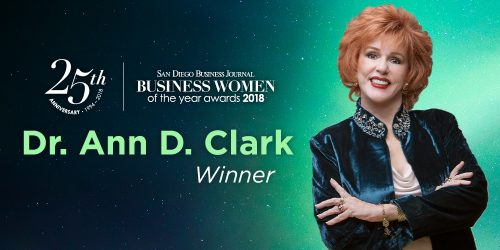 Dr. Ann Clark is SDBJ's Business Woman of the Year!