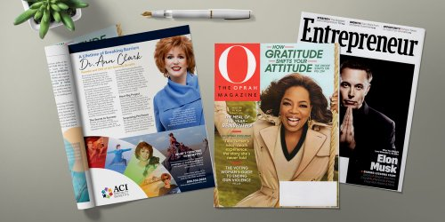 ACI CEO Dr. Ann Clark Featured in O Magazine and Entrepreneur Magazine