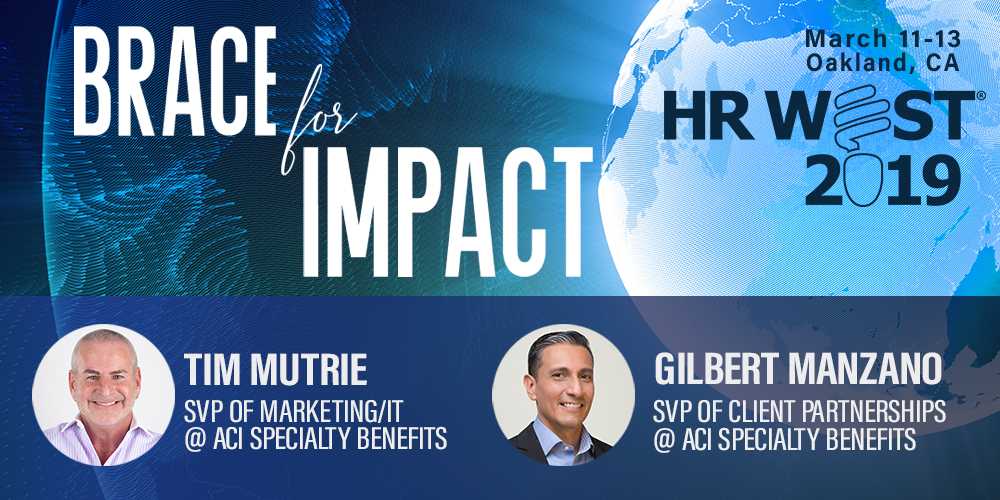 ACI Specialty Benefits Executives Speaking at HR West 2019
