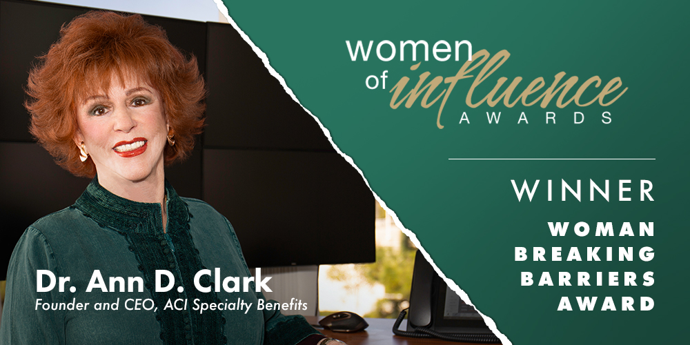 CEO Dr. Ann Clark Wins Woman Breaking Barriers Award