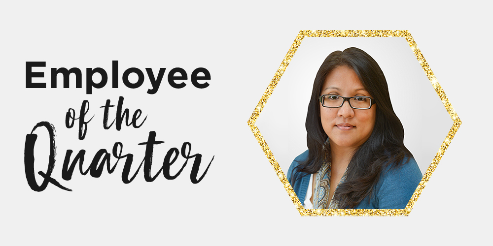 Q2 2019 Employee of the Quarter: Jeanette Desiga