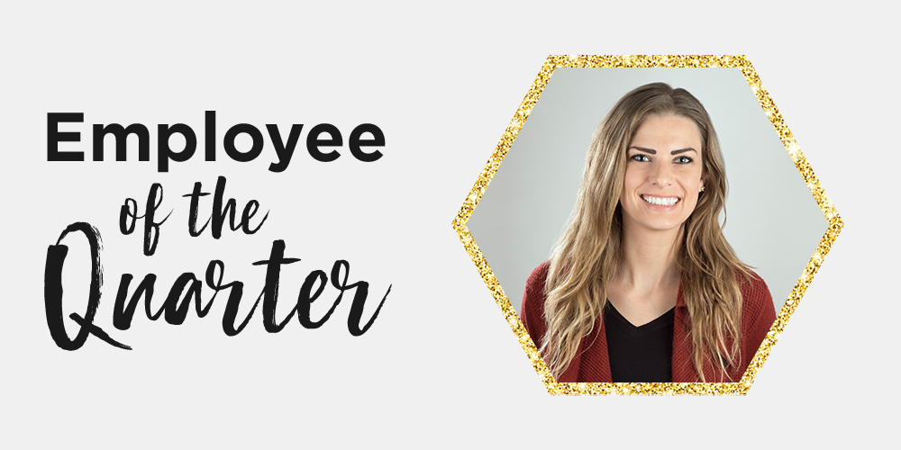 Q4 2018 Employee of the Quarter: Michelle McCutcheon