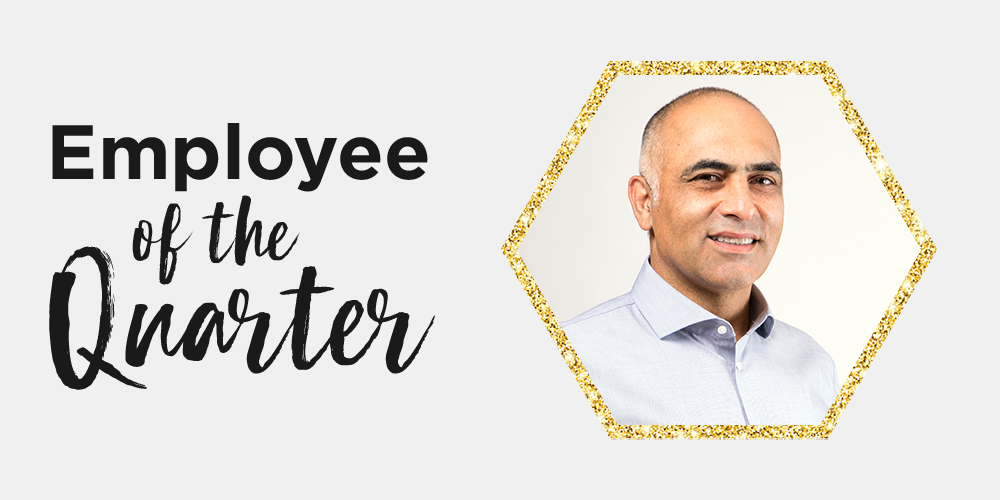 Q3 2019 Employee of the Quarter: Saeed Zandieh