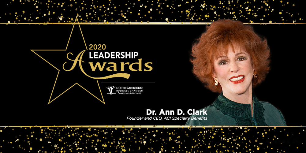 Dr. Ann Clark Is a Featured Finalist for 2020 Leadership Awards