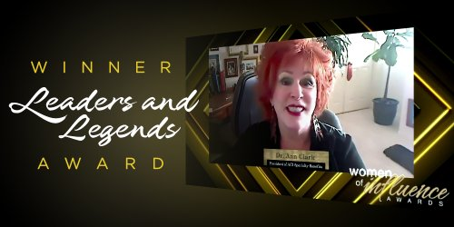 Dr. Ann Clark Wins Leaders and Legends Award