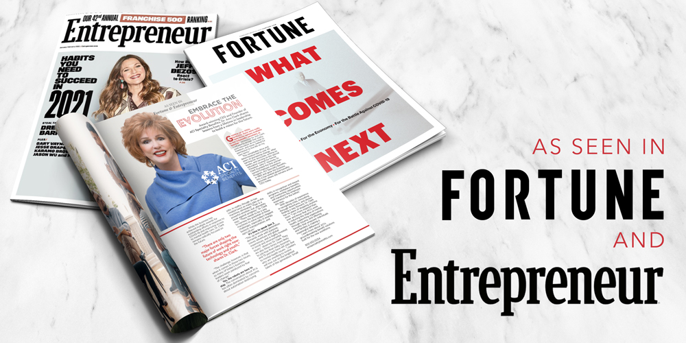 ACI CEO Dr. Ann Clark Featured in Fortune and Entrepreneur Magazines